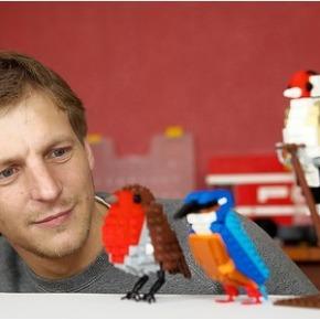 LEGO brengt zelfgemaakte vogels Tom Poulsom inproductie