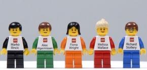 Visitekaartje Staff LEGO
