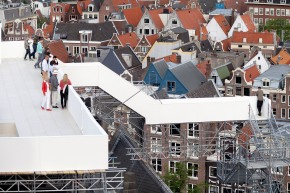 Panoramadek Taturo Atzu biedt subliem uitzicht overAmsterdam