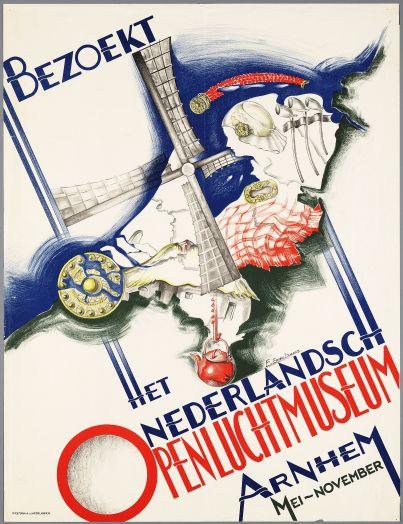 Affiche Collectie Openluchtmuseum Arnhem